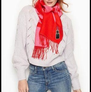 Very cozy Victoria's secret scarf.